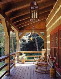 knisley home porch log home pinterest porch decking and