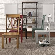 Dining Chair Outlet Shop For Eleanor Double X Back Wood Dining Chair Set Of 2 By