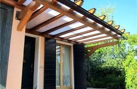 preventivo tettoia in legno tettoia terrazzo prezzi copertura in vetro realizzata per un