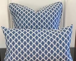 Indigo Home Decor Indigo Blue Ikat Etsy