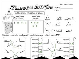 cheesy angles a year 5 angles worksheet