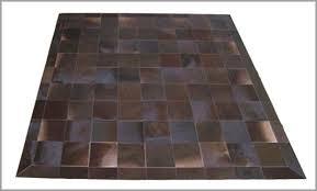 tappeti pelle di mucca tappeto patchwork in pelle di mucca mod cu444 tappeti in pelle