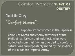 Comfort Women In Philippines Comfort Woman Slave Of Destiny
