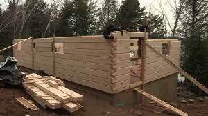 discovery dream homes log assembly youtube