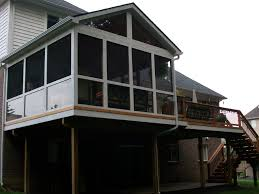 Shed Roof Screened Porch Southeastern Michigan Screened Porches Enclosures U0026 Sheds Photo