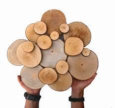 abstract wood sculpture tree slice wood slice free form rustic