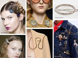 Spring 2017 Trends by Jewelry Trends For Spring Summer 2017 Watches Brooches And Hair
