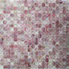 Stained Glass Backsplash by Splashback Tile Breeze Plum Stained Glass Mosaic Wall Tile 3 In