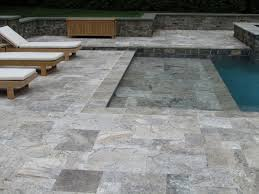 Limestone Patio Pavers by Pool Gallery Gothic Stone