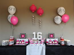 Birthday Home Decoration The Special And Sweet 16 Decorations The Latest Home Decor Ideas