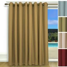 Insulated Thermal Curtains Elegance Insulated Thermal Grommet Curtain Patio Panel