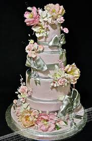 690 best wedding cakes with flowers images on pinterest beach