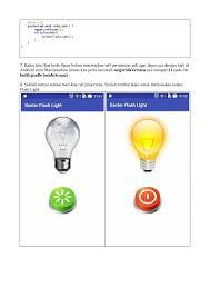 membuat aplikasi android sederhana dengan flash tutorial android membuat aplikasi senter flash light