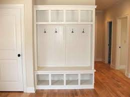 free mudroom hutch plans diy pinterest and mud