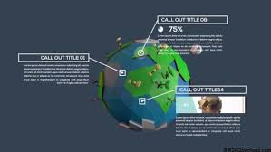 inforgraphic callout titles after effects template motion array