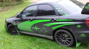green subaru wrx subaru impreza wrx turbo 2004 tuning youtube