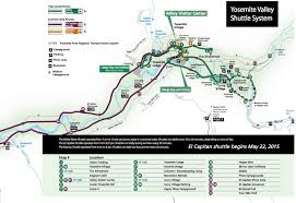 Yosemite Valley Map Beat The Traffic How To Climb In Yosemite Without Driving