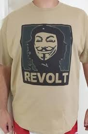 che guevara t shirt anonymous che guevara revolt with fawkes mask t shirt