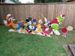 christmas yard disney christmas yard yard made by de yard