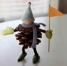 cute and fun diy pine cone elf a perfect snow day activity