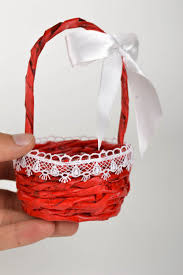 Home Decoration Handmade Madeheart U003e Handmade Designer Paper Basket Stylish Home Decor