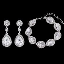 bridal earrings bracelet sets images Bridal bracelet earring set archives fods ladies fashion jpg