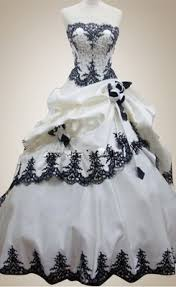 black and white wedding dress buy gorgeous black and white lace up bridal gown wedding dress