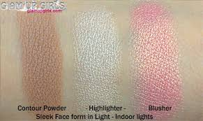 sleek makeup face form in light review and swatches