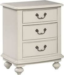 greyson living gladstone antique white 3 drawer nightstand by