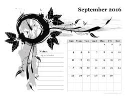 2016 calendar with holidays printable pdf and image