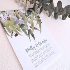 letterpress invitation sample wedding engagement save the