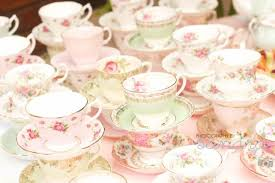 kitchen tea theme ideas shabby vintage high tea bridal shower the mix of tea cups