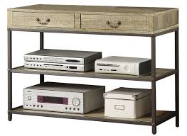 wood and metal console table with drawers concepts sofa table w slate top in metal beyond stores stunning