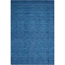 Solid Area Rugs Shop Nourison Wav10 Grand Suite Ocean Rectangular Indoor Hand Made