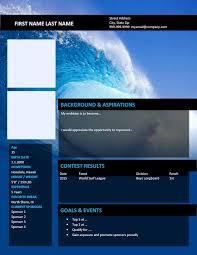 Atv Sponsorship Resume Sponsorshipresumes Com