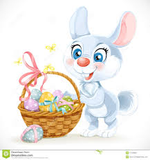 bunny basket eggs easter bunny with eggs happy easter 2017