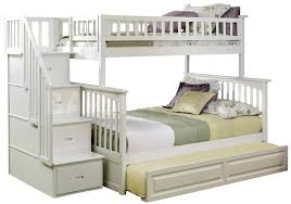 Bedding Twin Over Full Bunk Bed With Stairs Drawers And Desk Berg - Twin over full bunk bed canada