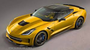 corvette stingray gold imagining the next corvette zr1