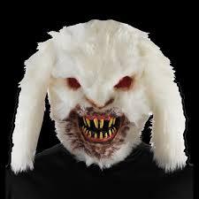 Cheap Halloween Props Paper Mache Rabbit Mask Halloween Animal Masks Rabbit Goat