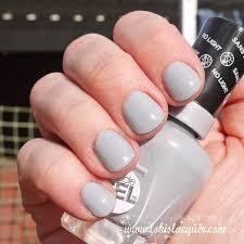 sally hansen miracle gel polish swatches greyfitti nail u0027d it