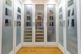 closet glass doors frosted glass doors closet traditional with wood floor hardwood floor