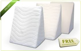 compact bed wedge cushions creatingcomforts creating comforts