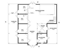 stable floor plans outbuilding plans horse barn or horse stable plan 006b 0006 at
