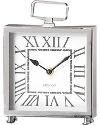large square craft table amazing deal gift craft table clock square silver antique style