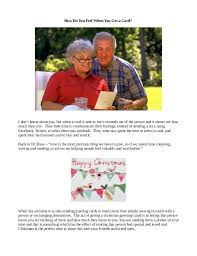 the importance of sending christmas greeting cards
