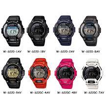 Negara Pembuat Jam Tangan Casio jam tangan casio original w s220 1bv elevenia