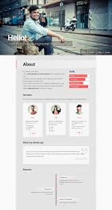 Online Resume Portfolio by 19 Professional Online Resume U0026 Cv Wordpress Themes 2014 A