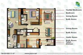 1 bedroom floor plan 2 bedroom plus 1 bedroom 1431 sqft type e floor plan