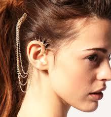 ear cuffs online shopping ear cuffs instead of heavy jhumkas spiked ear cuff cuffs designer