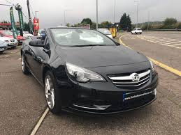 opel cascada convertible used black vauxhall cascada for sale essex